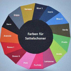 Farbkarte Sattelschoner